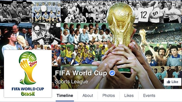 """Facebook pretende convertirse en """"el estadio más grande del mundo"""" durante el Mundial"""