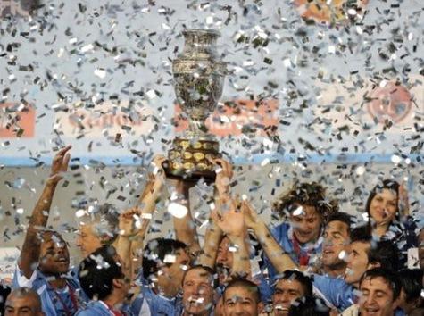 La final de la Copa América, Uruguay vs. Paraguay, en imágenes