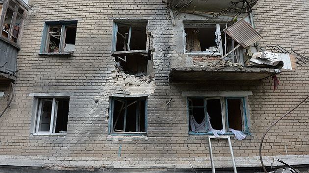 Ucrania: el Ejército bombardea viviendas en Donetsk