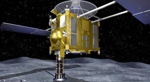 Japón recogerá muestras de un asteroide