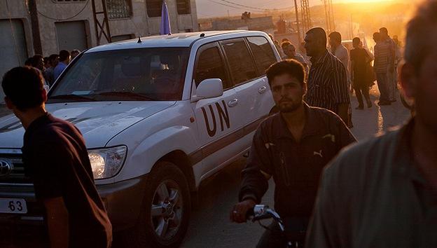 ONU, lista para introducir las fuerzas de paz en Siria en caso de tregua