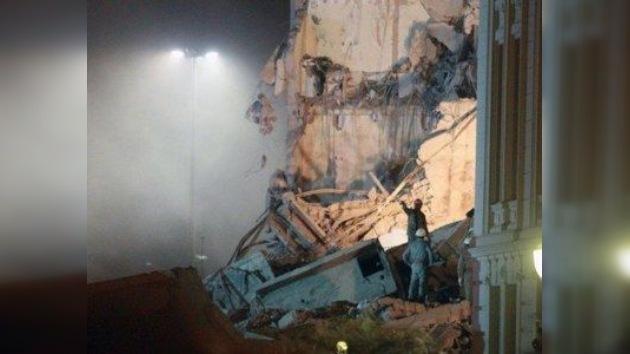 Colapso nocturno: se derrumban dos edificios en el centro de Río