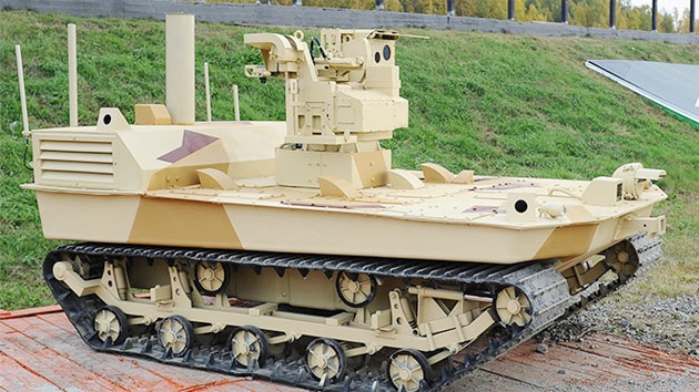 Robots armados hasta los dientes defenderán bases de misiles estratégicos rusos