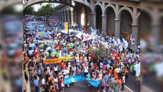 El Foro Social en Brasil finaliza con promesas de combatir el capitalismo