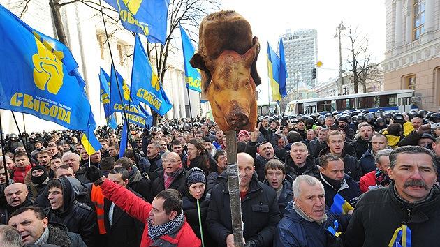 EE.UU. no hace el menor caso al antisemitismo en Ucrania