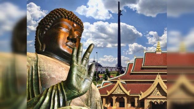 Templo budista completará conjunto religioso del Parque de la Victoria