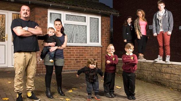 Un 'reality' británico sobre desempleados muestra la miseria en los suburbios urbanos