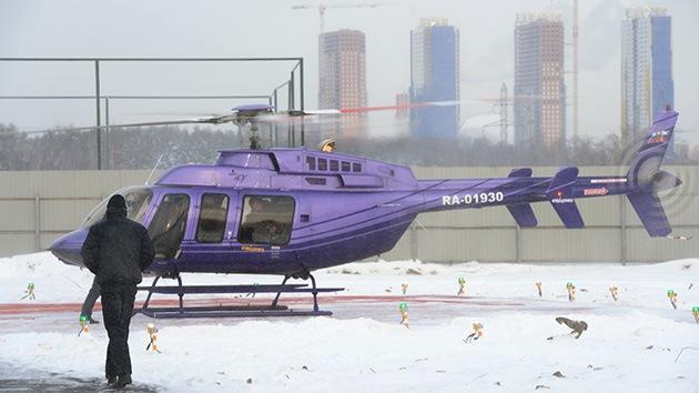 Fotos: ¿Levantan el vuelo los helicópteros taxi en Moscú?