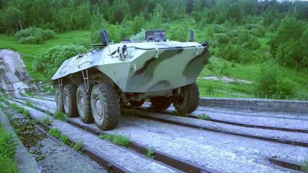Video: Rusia prueba un revolucionario vehículo para armas del futuro