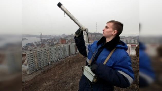 La radiación no amenaza a los territorios rusos