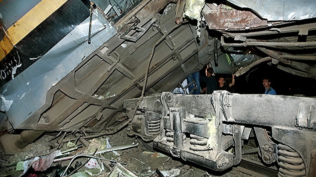 Egipto: Un accidente de tren deja al menos 14 víctimas