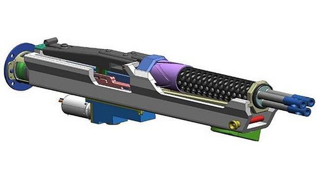 Alemania desarrolla una ametralladora a motor eléctrico de triple cañón