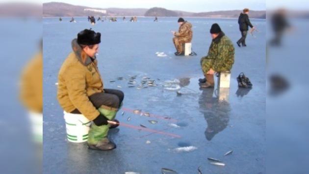 Finaliza la temporada de pesca invernal en Moscú