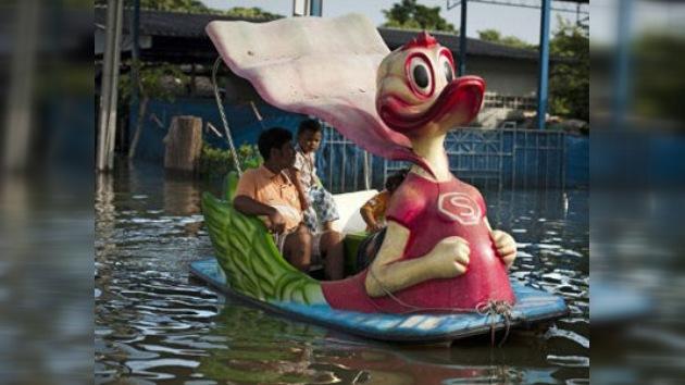 Tailandia, ahogada por las inundaciones