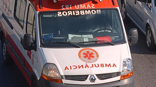 Más de 40 heridos en un accidente de ferrocarril en Río de Janeiro