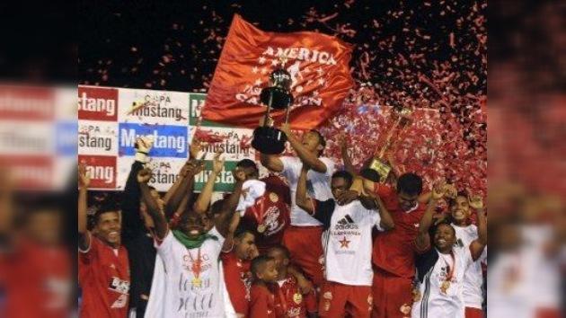 América de Cali :La 'virreina' de la Copa Libertadores baja a la 'B' del fútbol colombiano