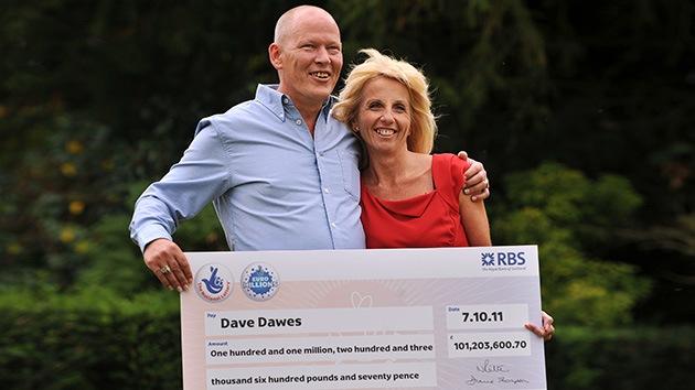 Hasta que la lotería los separe: Una pareja rompe por no saber cómo gastar un premio