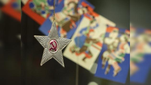 El Año Nuevo de la época de la guerra, en una exposición en Moscú