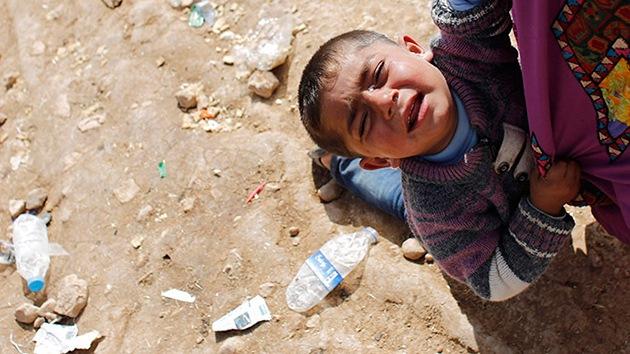 HRW revela las torturas que viven los niños kurdos secuestrados por el Estado Islámico