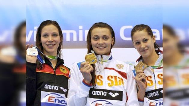 Rusia conquista el oro y el bronce en el Campeonato Europeo de Natación