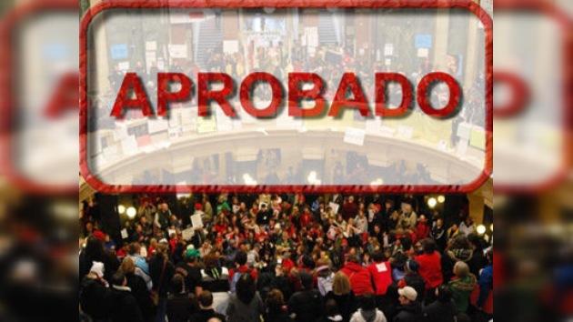 La Cámara baja de Wisconsin aprueba la ley anti-sindical