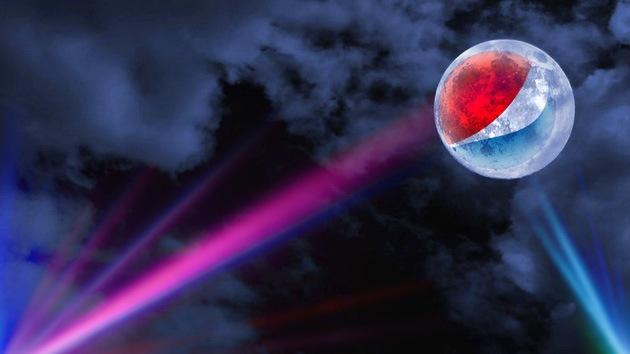 El logotipo de Pepsi, ¿en la Luna?