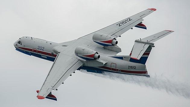 Las sanciones no impiden que Occidente opte por el avión anfibio ruso Be-200