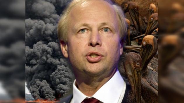 Nuevo jefe de BP acusó a rivales y medios de alarmismo por derrame