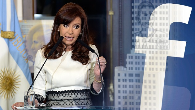 "Cristina Kirchner carga contra los 'fondos buitre' en Facebook: ""No quieren arreglar"""