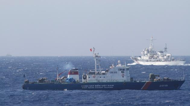 FOTOS: China construye una nueva isla en zona de disputa territorial