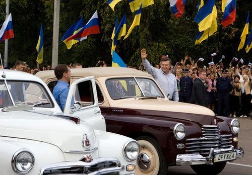 Carrera automovilística de jefes de estado