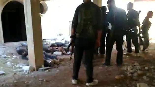 La ONU investiga un posible crimen de guerra de los rebeldes sirios grabado en video