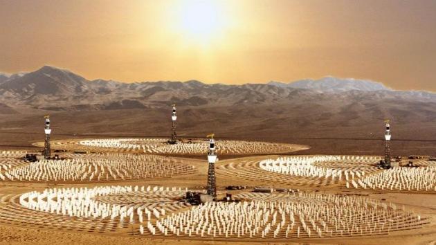 'Balón de oxígeno' para la energía verde: obtienen hidrógeno por vía térmico-solar