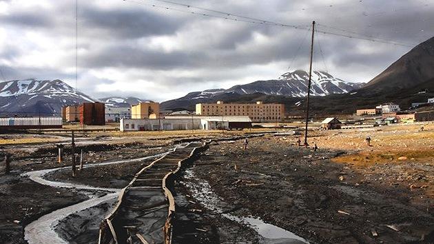Fotos: La ciudad fantasma soviética a orillas del Polo Norte