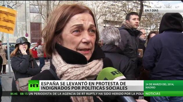 España, llena de protestas de indignados por las políticas sociales