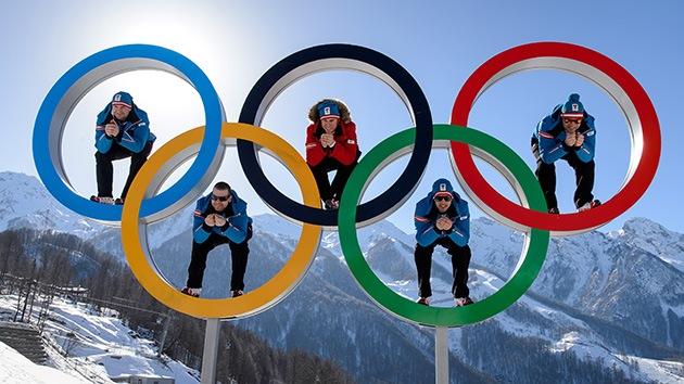 A los deportistas sí que les gusta Sochi