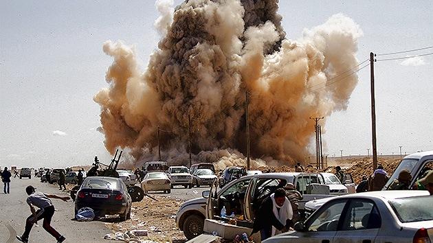 """""""EE.UU. cosecha lo que sembró en Libia"""""""