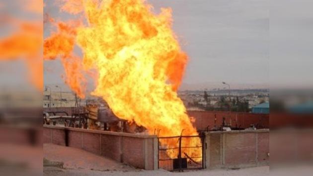 Una explosión en la principal tubería de Egipto afecta a los suministros de gas