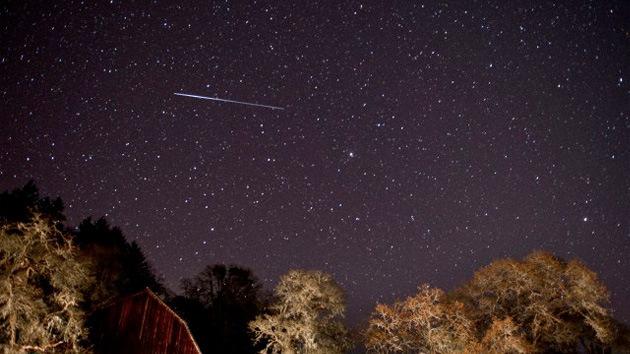 Video: Lluvia de meteoros en California