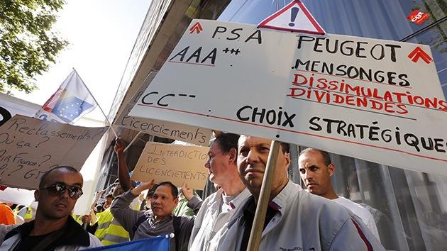 Francia: ventas de autos caen y se llevan en picada al empleo
