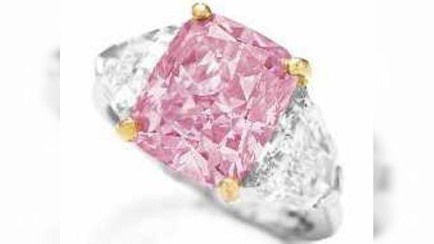 Un raro diamante rosa de 30 millones de dólares será subastado