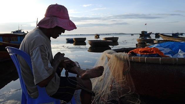 Esclavos asiáticos producen gambas para supermercados de EE.UU y Reino Unido