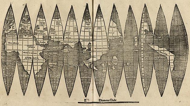 Los cartógrafos 'descubren' América