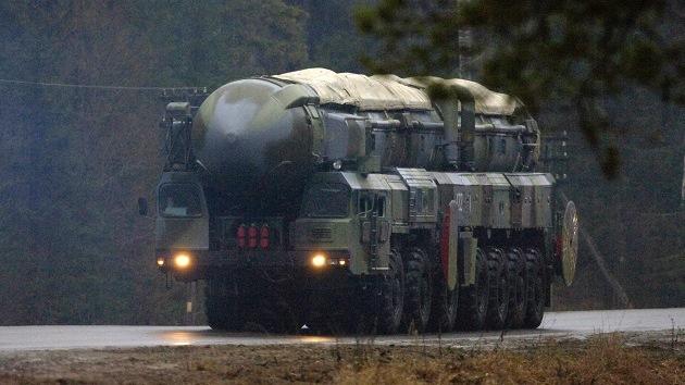 Rusia realiza una prueba del misil Topol-M