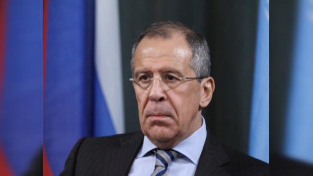 Lavrov no excluye que atentados en Moscú tengan raíces extranjeras