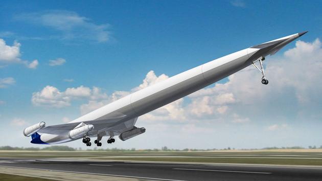 Presentan un motor de avión superpotente que usa oxígeno como combustible