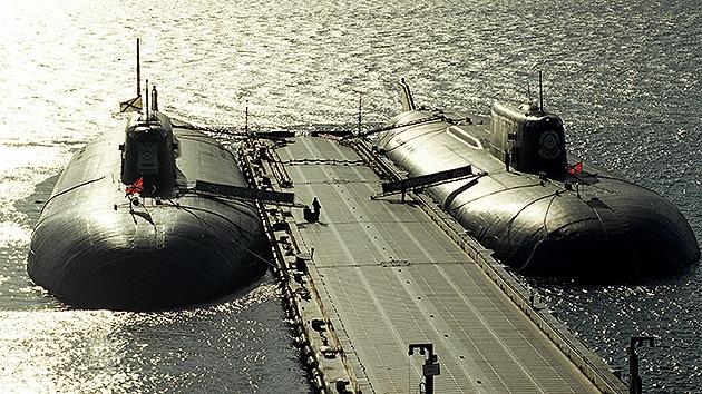 Infografía: submarinos de la Armada rusa