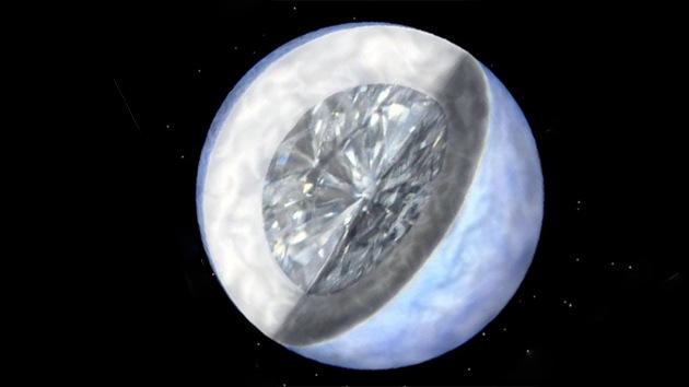 Astrónomos aseguran que el espacio lejano está lleno de diamantes