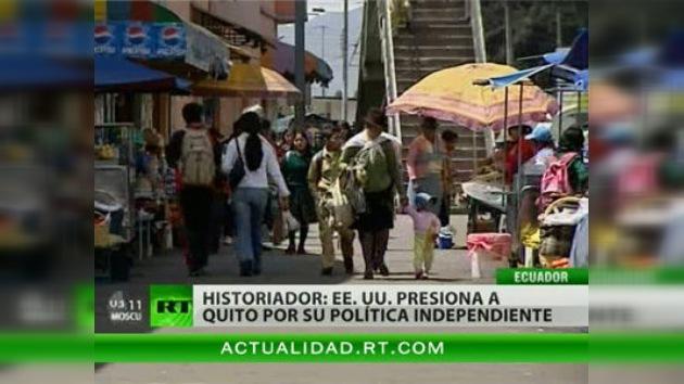 Ecuador considera la suspensión del diálogo con EE. UU. una herramienta de presión