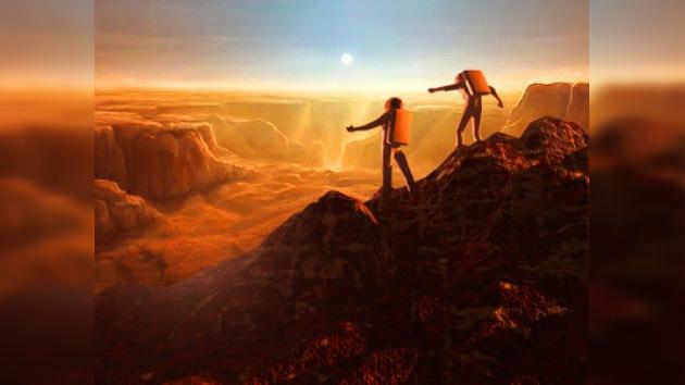 Comienza la primera caminata por la superficie simulada de Marte